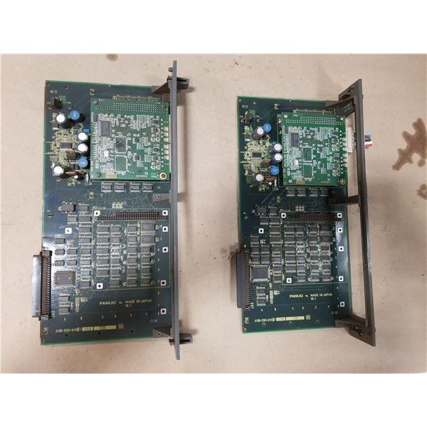 (2) FANUC A16B-2203-0190/06B DEVICE NET I/F CIRCUIT BOARD