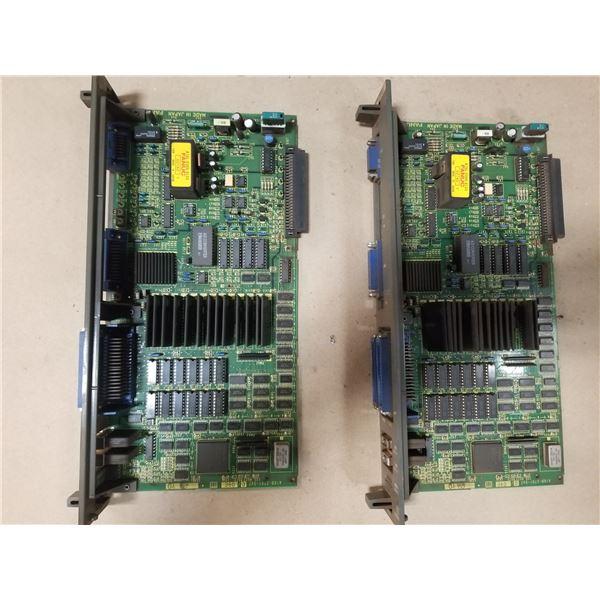 (2) FANUC A16B-2201-0470/09E PROCESSOR CIRCUIT BOARD