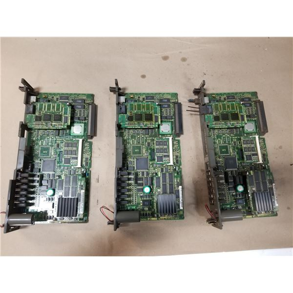 (3) FANUC A16B-3200-0412/03A CPU CONTROL CIRCUIT BOARD
