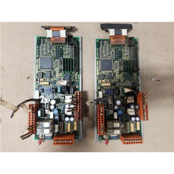 (2) FANUC A20B-2100-0770/06E OPERATOR PANEL CIRCUIT BOARD
