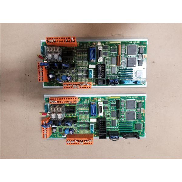 (2) FANUC  A20B-2101-0370 CONTROL CIRCUIT BOARD