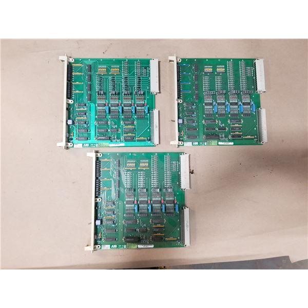 (3) ABB E-31021 I/O CIRCUIT BOARD