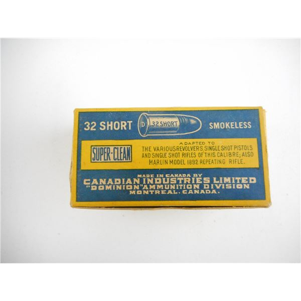 .32 SHORT, DOMINION COLLECTIBLE AMMO