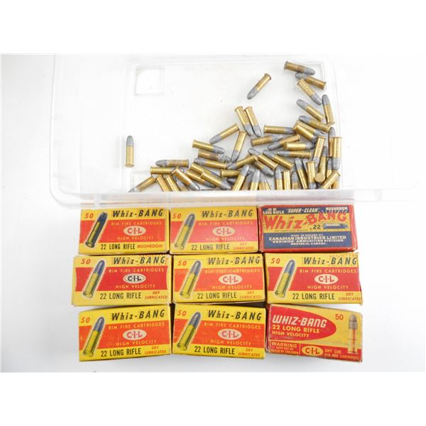 ASSORTED .22 LR, WIZ-BANG COLLECTIBLE AMMO