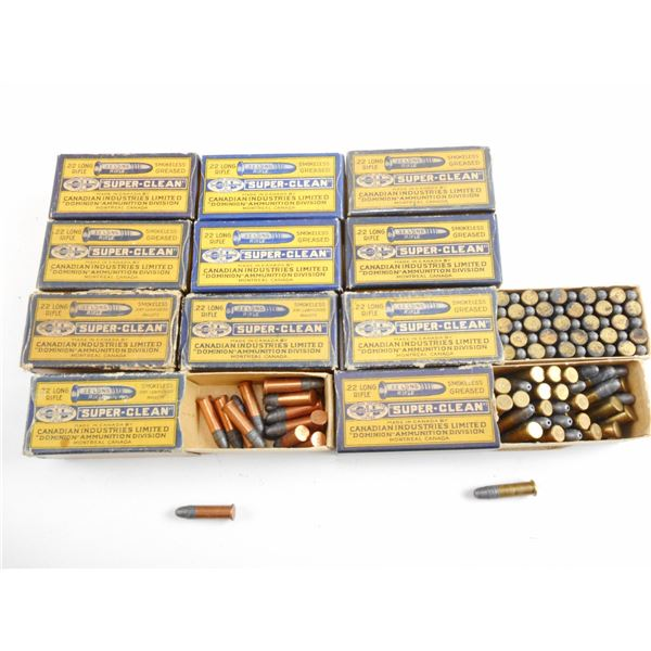 ASSORTED .22 LR, CIL COLLECTIBLE AMMO