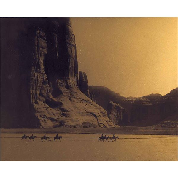 Edward Curtis -Canyon de Chelly