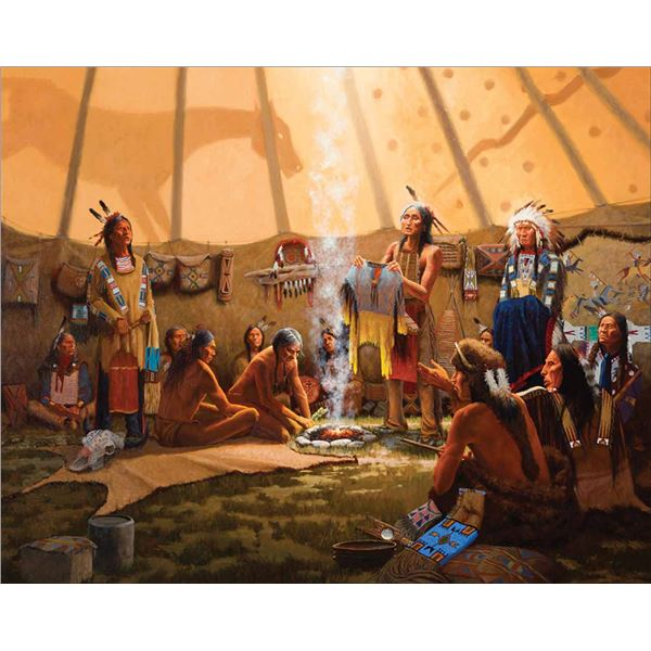Jim Cox -Crazy Horse Shirt Wearers Ceremony