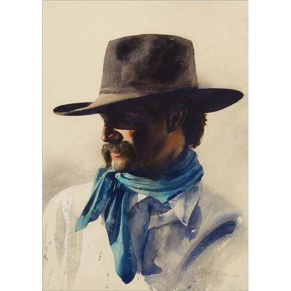 William Matthews -The Blue Bandana