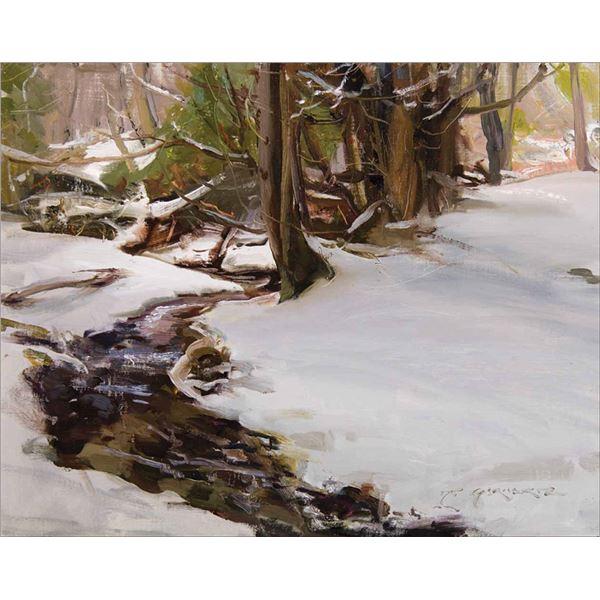 Daniel Gerhartz -Snowfall on Nichols Creek