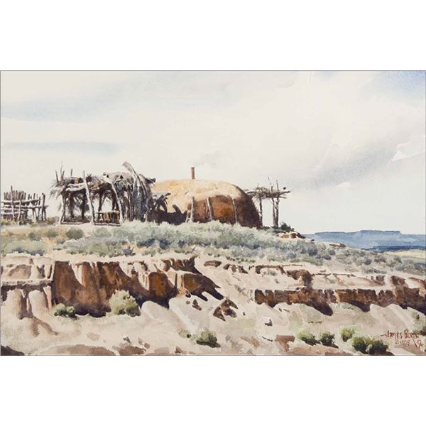 James Boren -Home in the Navajo Land
