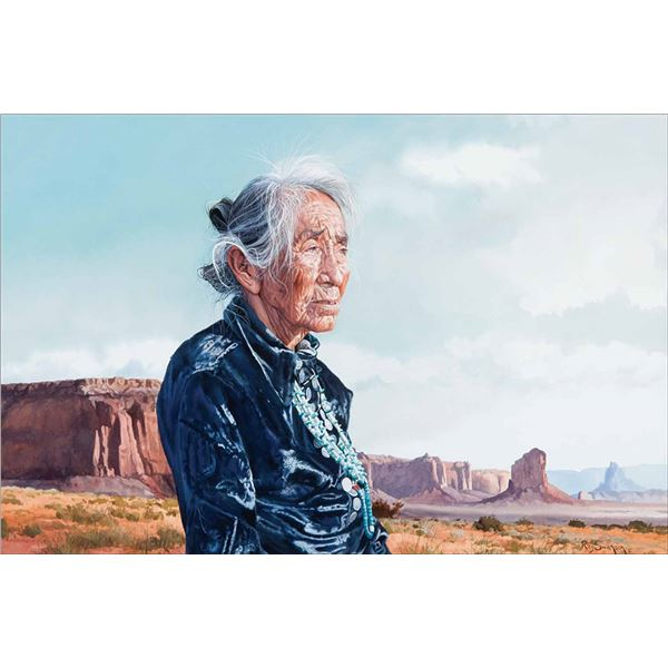 Ray Swanson -Monument Valley Lady