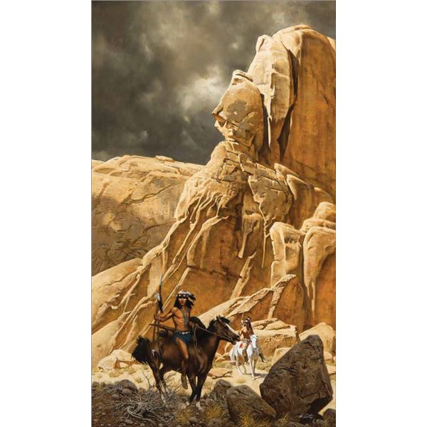 Frank McCarthy -The Warriors of Canyon Land