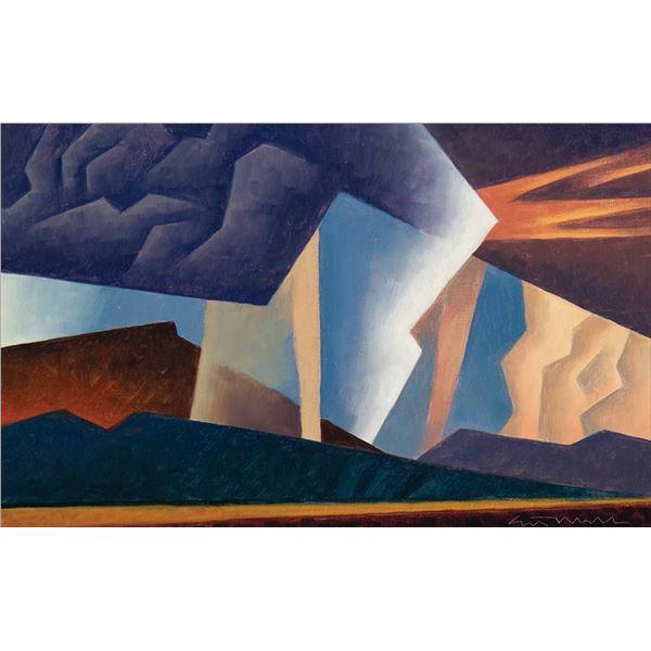 Ed Mell -Desert Composition 1