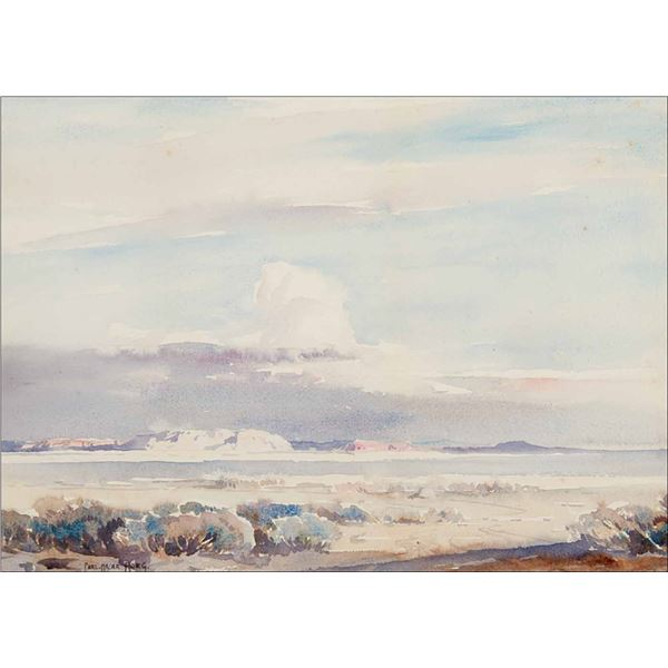 Carl Oscar Borg -Cloudscape