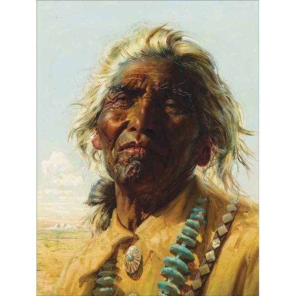 R. Brownell McGrew -She Bidalkai, A Navajo