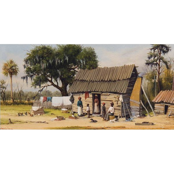 William A. Walker -Low Country Cabin