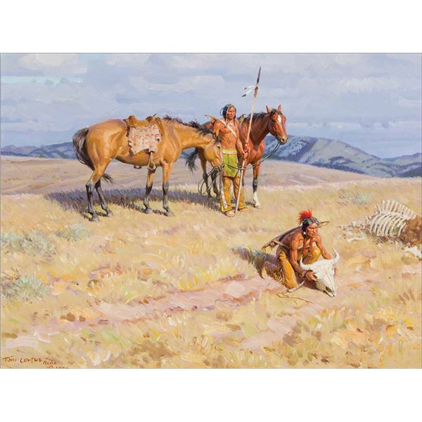 Tom Lovell -Homage to the Bison