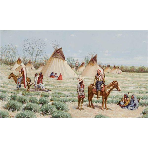 John Hauser -War Eagle's Camp