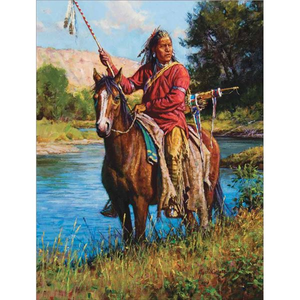 Martin Grelle -Watcher on the Greasy Grass