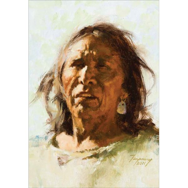 Howard Terpning -Head Study