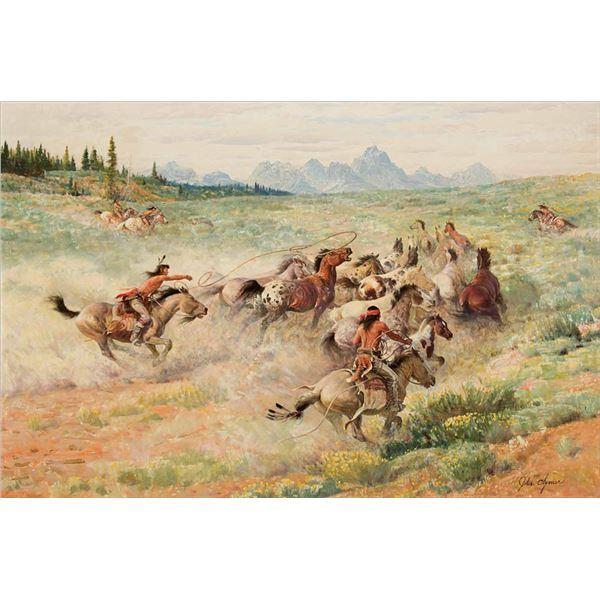 John Clymer -Wild Horses