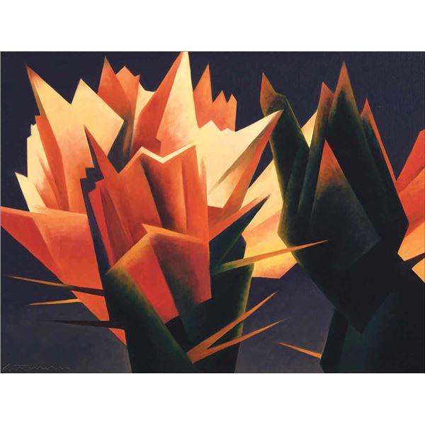 Ed Mell -Crimson Spikes