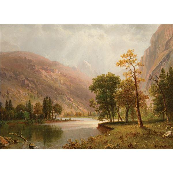Albert Bierstadt -Star King Mountain