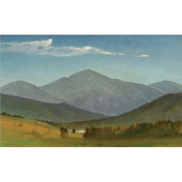 Albert Bierstadt -Western Sketch