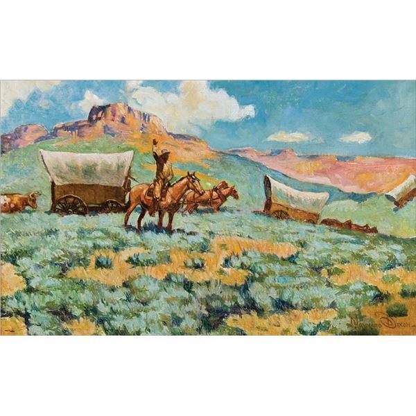 Maynard Dixon -Westward Bound