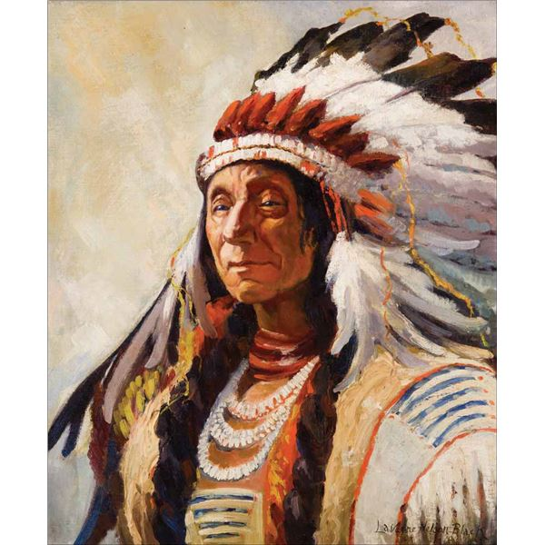 Laverne Nelson Black -Chief Red Cloud