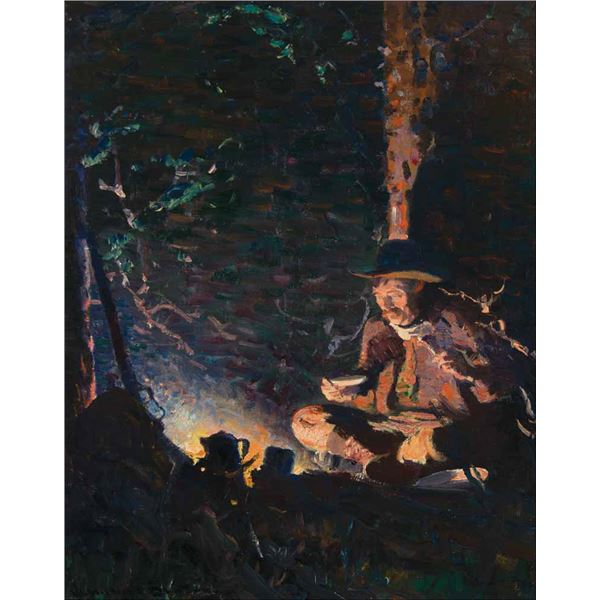 William Dunton -Evening Meal - The Hunter's Supper
