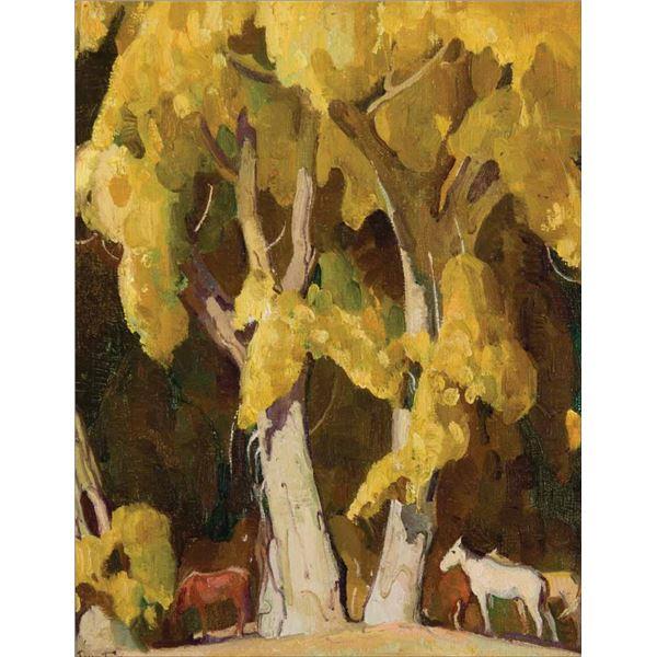 William Dunton -Gold of Autumn