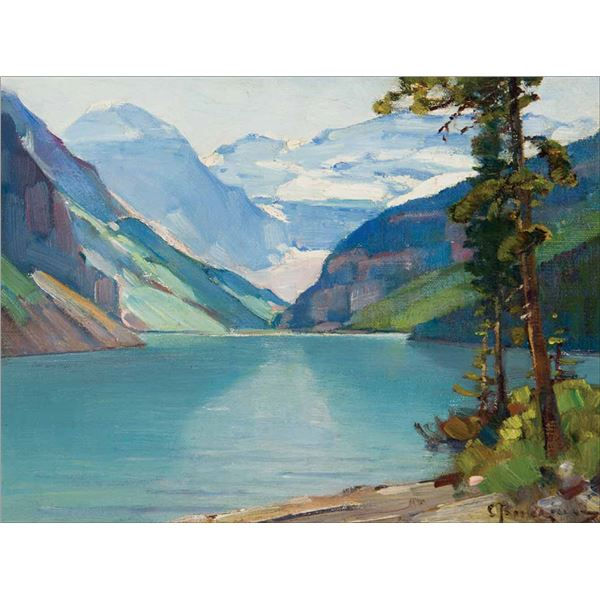Carl Rungius -Lake Louise