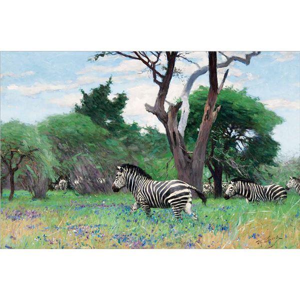 Wilhelm Kuhnert -Zebras