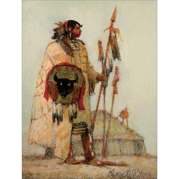 Kenneth Riley -Mandan Warrior