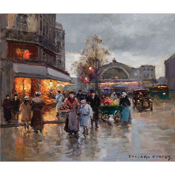 Edouard Cortes -Gare de I'Est