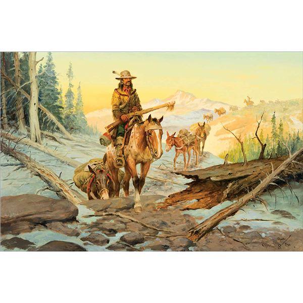 Charlie Dye -Mustangs, Mules and Men