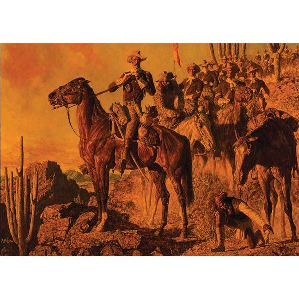 Arnold Friberg -A Glimpse of Geronimo