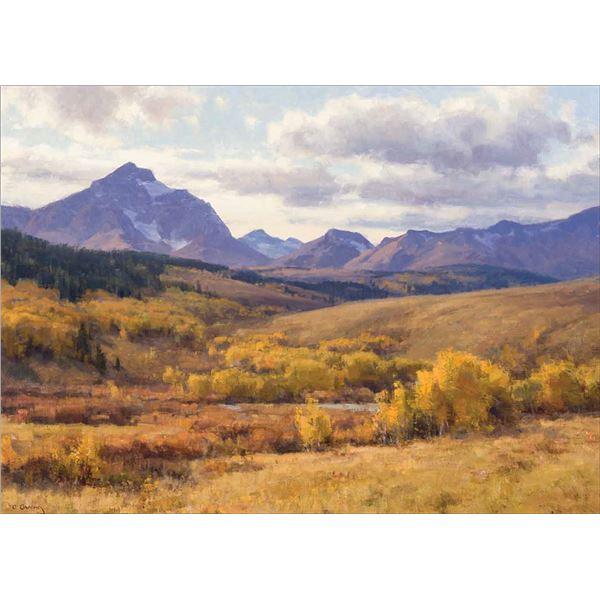Clyde Aspevig -Autumn Foothills, Glacier Park, Montana
