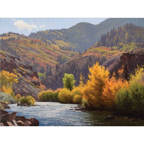 Jay Moore -Indian Summer, Frying Pan River