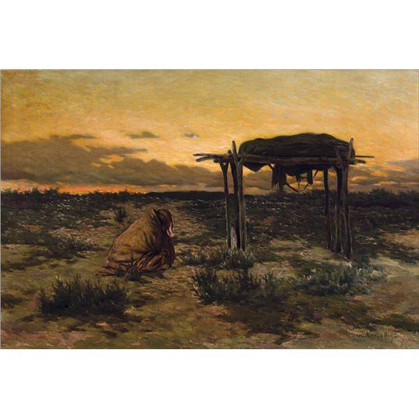 Warren Rollins -Plains Burial
