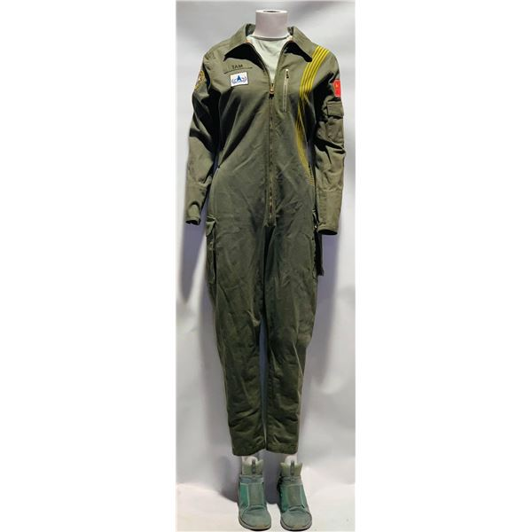 The Cloverfield Paradox (2018) - Tam (Ziyi Zhang) Jumpsuit And Shoes