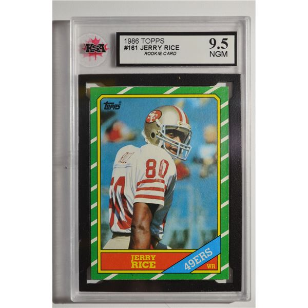 1986 Topps #161 Jerry Rice ROOKIE