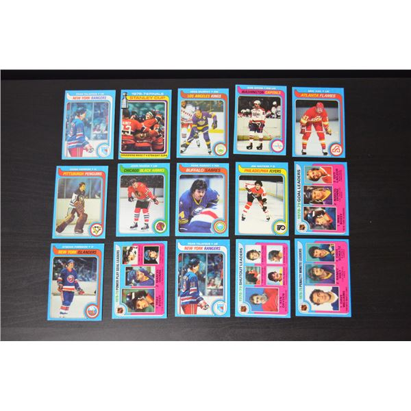 1979-80 Topps/OPC (29 Cards)