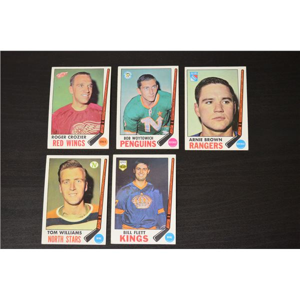 1969-70 Topps (5 Cards)
