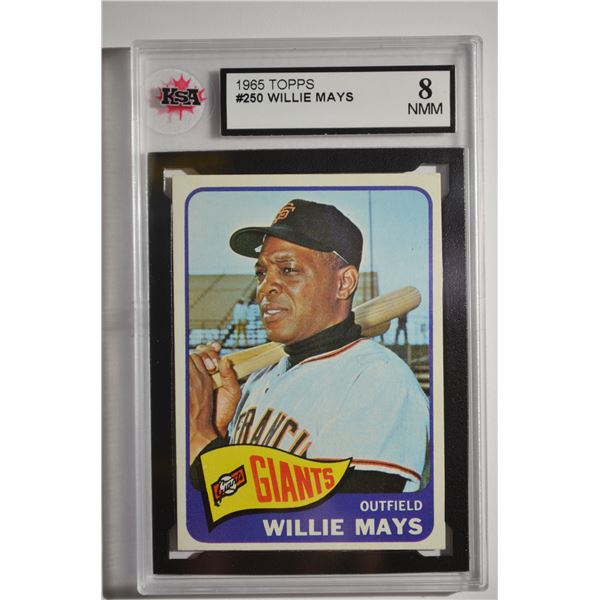 1965 Topps #250 Willie Mays