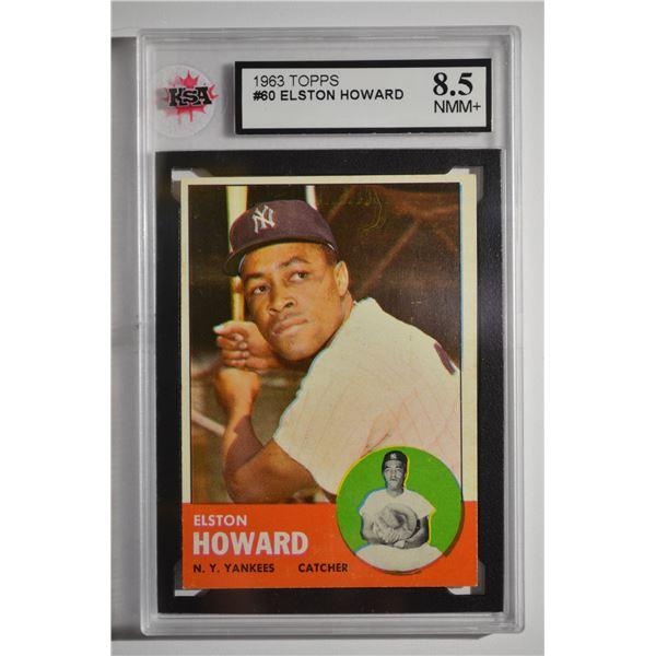 1963 Topps #60 Elston Howard