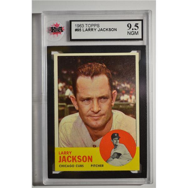 1963 Topps #95 Larry Jackson