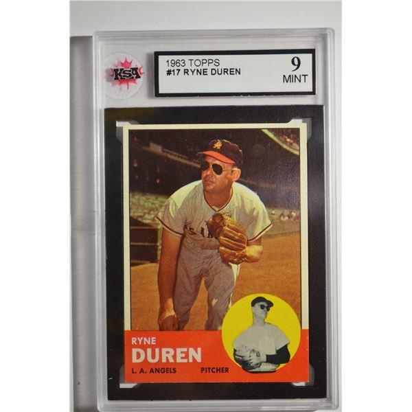 1963 Topps #17 Ryne Duren