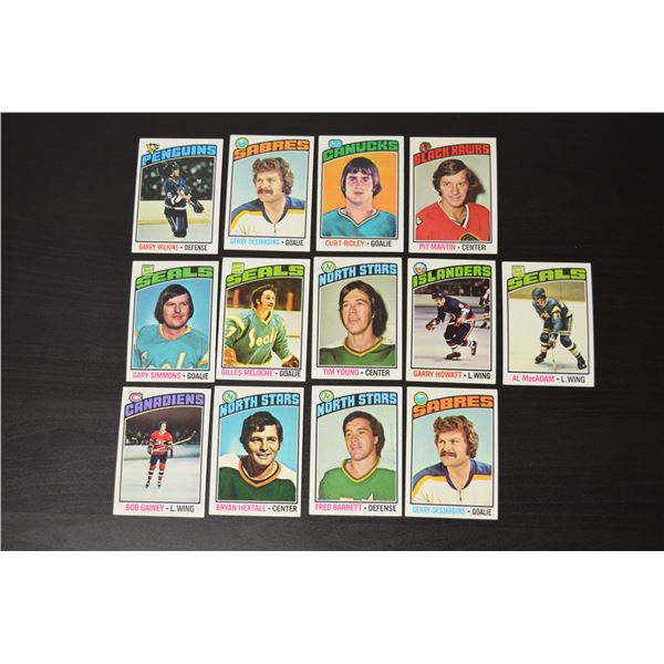 1976-77 Topps (27 Cards)